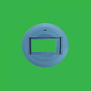 Ổ cắm âm sàn 3 lỗ kiểu tròn nhựa + đế âm