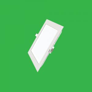 Đèn LED panel vuông âm 12W